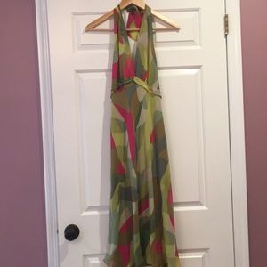 Woman's halter dress
